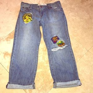 Reo Starr Destroyed & Patched Jeans